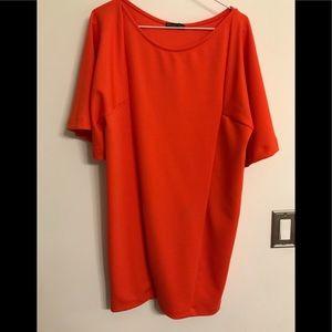 Zara Orange Dress